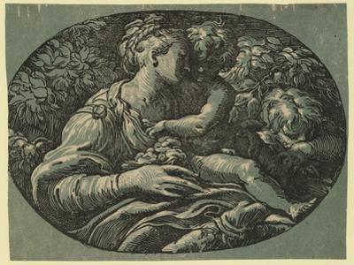 The Virgin by Parmigianino