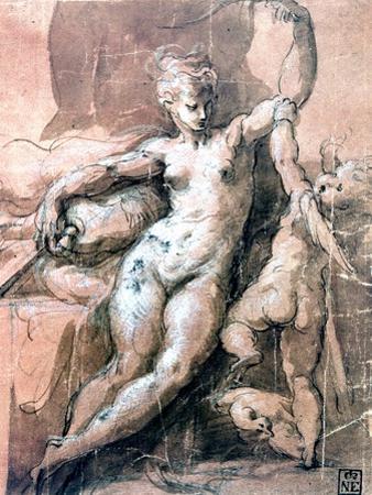 Venus and Child, C1513-1540 by Parmigianino