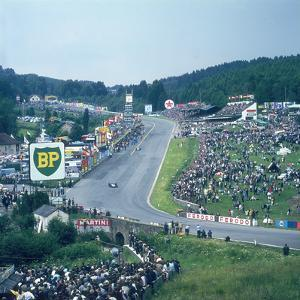 Part of Spa-Francorchamps Race Track, Belgian Grand Prix, Belgium, 1963