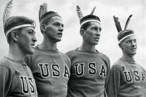 Part of the American Gold Medal-Winning Rowing Eight, Berlin Olympics, 1936