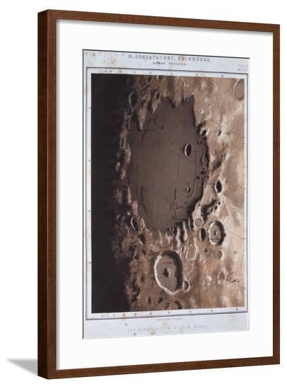 Part of the Lunar Surface, 1857--Framed Giclee Print