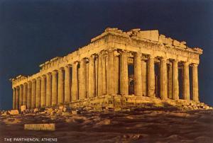 Parthenon at Night, Acropolis