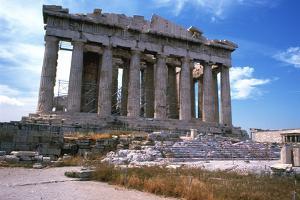 Parthenon on the Acropolis, Athens, 5th Century Bc
