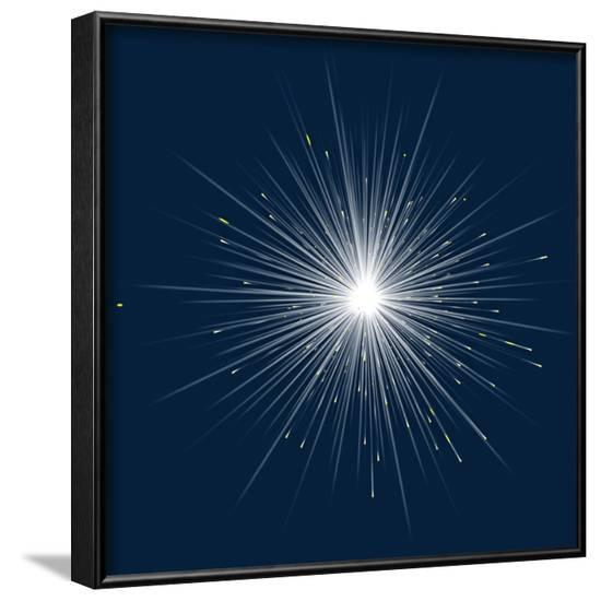 Particle Physics Research--Framed Photographic Print