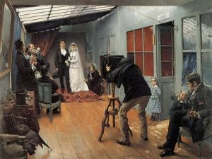 Wedding at the Photographer'S, 1878-1879 by Pascal Adolphe Jean Dagnan-Bouveret