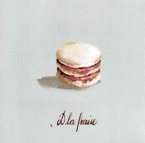 Macaron à la Fraise by Pascal Cessou
