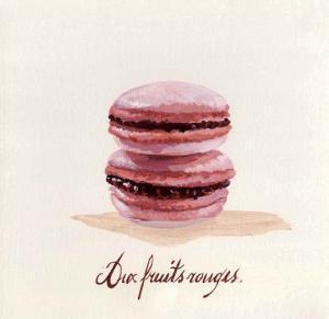 Macaron aux Fruits Rouges by Pascal Cessou