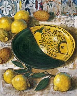 Ceramique aux Citrons by Pascal Lionnet