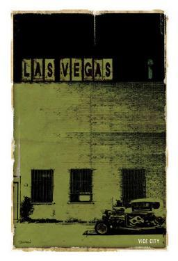 Las Vegas, Vice City in Green by Pascal Normand