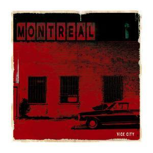 Montreal Vice City in Red by Pascal Normand