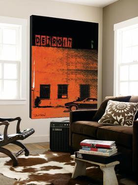Vice City (Detroit, Orange) by Pascal Normand