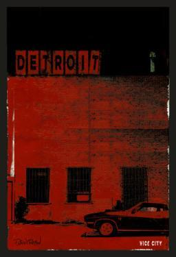 Vice City Detroit- Red by Pascal Normand