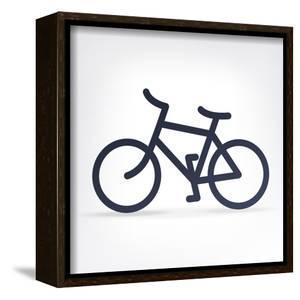 Minimalistic Bicycle Icon by pashabo