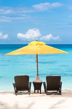 Tropical Beach Resort by pashapixel