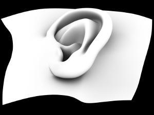 Ear, Artwork by PASIEKA