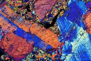 Granite, Thin Section, Polarised LM by PASIEKA