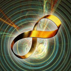 Infinity Symbol And Black Hole by PASIEKA