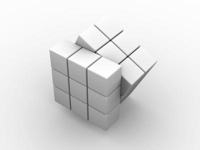 Rubik's Cube, Artwork