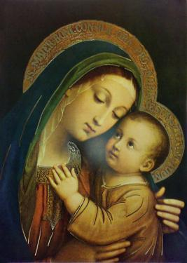 Our Lady of Good Counsel by Pasquale Sarullo