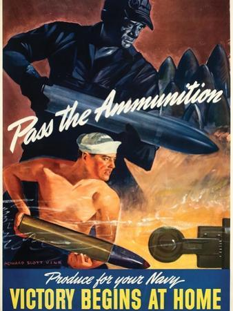Pass the Ammunition, Navy Production