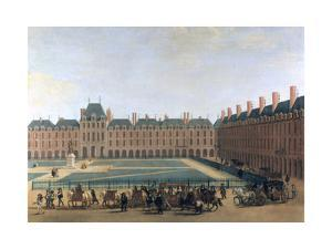 Passage of the King and the Regent, the Place Royale, C1655