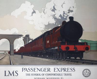 Passenger Express, LMS, c.1930s