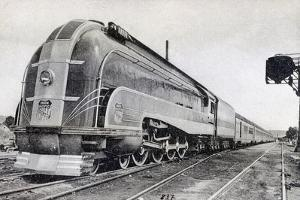 Passenger Train, Pullman of the Pacific Union, America, 20th Century