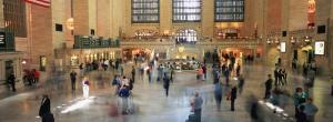 Passengers at a Railroad Station, Grand Central Station, Manhattan, New York City, NY, USA