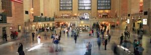 Passengers at a Railroad Station, Grand Central Station, Manhattan, New York City, NY, USA