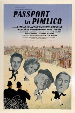 Passport To Pimlico, 1949, Directed by Henry Cornelius
