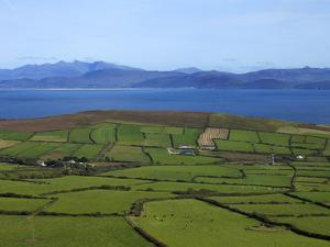 Pastoral Countyside Near Bulls Head Overlooking Dingle Bay And the Distant Ring of Kerry