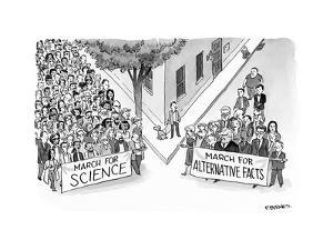 Alternative Marches - Cartoon by Pat Byrnes