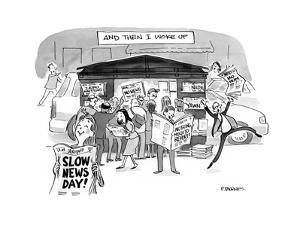 Then I Woke Up - Cartoon by Pat Byrnes