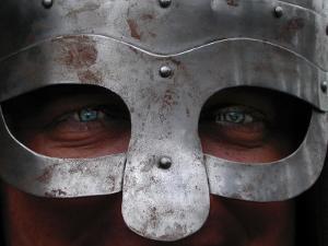 Viking Reenactor, Medieval Fair, FL by Pat Canova