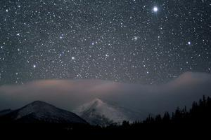 Stars over Rocky Mountain National Park by Pat Gaines