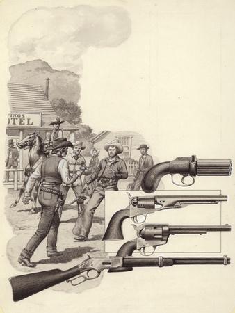 A Wild West Gunfight
