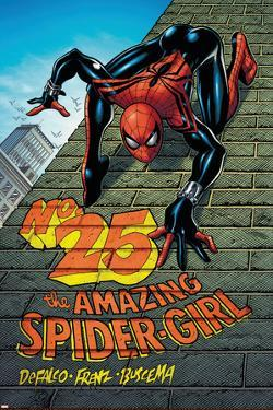Amazing Spider-Girl No.25 Cover: Spider-Girl by Pat Olliffe
