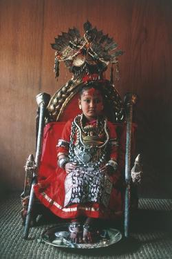 Patan, Kumari Princess, Katmandu Valley