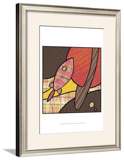 Patchwork Planets IV-Charles Swinford-Framed Art Print