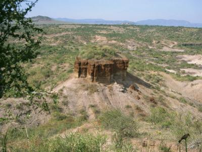 Olduvai Gorge, UNESCO World Heritage Site, Serengeti, Tanzania, East Africa, Africa