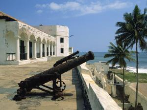 St. Georges Fort, Oldest Fort Built by Portuguese in the Sub-Sahara, Elmina, Ghana, West Africa by Pate Jenny