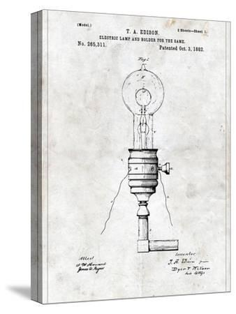 Electric Lamp by Patent