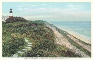Path to Sankaty, Siasconset, Nantucket, Massachusetts