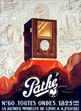 Pathe Tube Radio