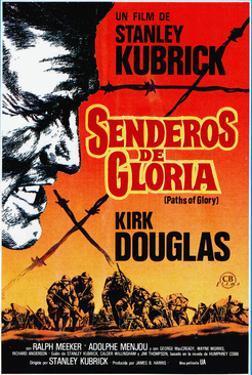 Paths of Glory, (AKA Senderos De Gloria), Kirk Douglas, 1957