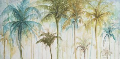 Watercolor Palms by Patrcia Pinto