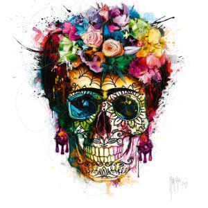 Frida Skull by Patrice Murciano