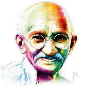 Gandhi - I am Love by Patrice Murciano