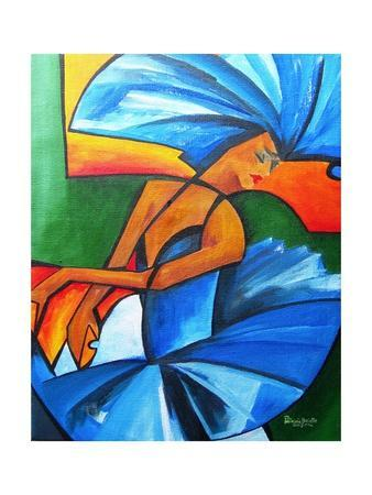 Dance in blue, 2008