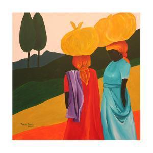 Friendly Encounter, 2006 by Patricia Brintle
